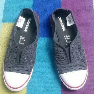 Converse womens Crochet Cove Slip-On Sneaker 9